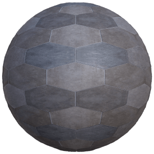 decorative hexagon marble tiles