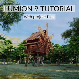 lumion 9 tutorial wind mill
