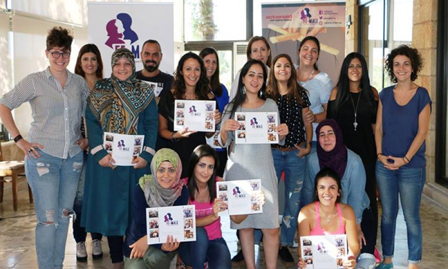 جمعية Fe-Male   تعقد ورشة عمل حول موضوع الجندر والتغطية الصحفية لقضايا النساء