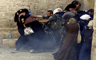 !الفلسطينيات في خطر