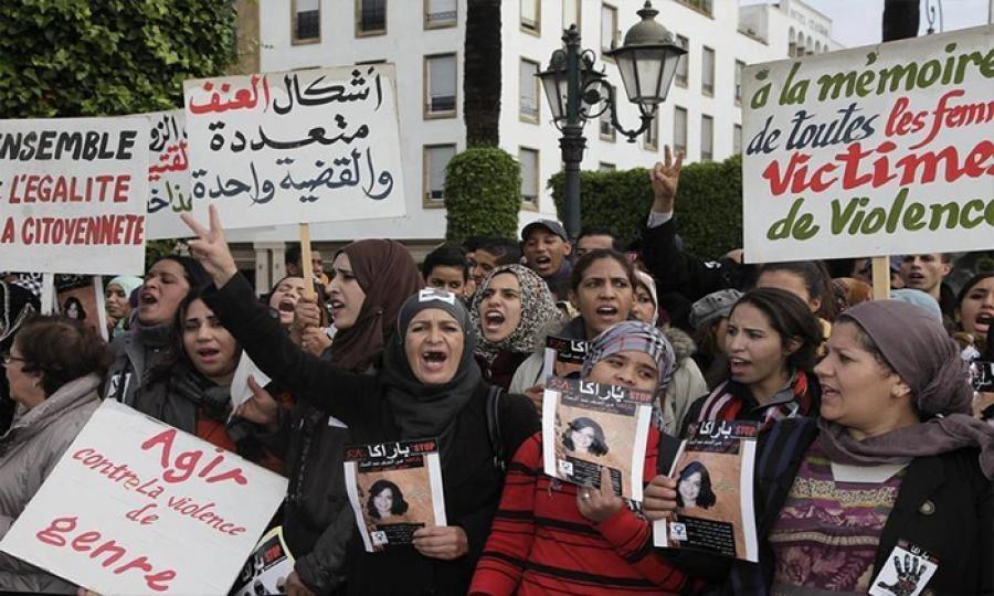 رد ضعيف على العنف الأسري في المغرب