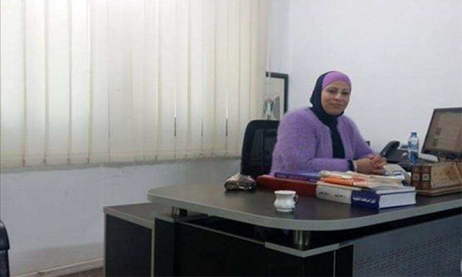 اول امرأة في فلسطين تتسلم مهام رئيسة نيابة.