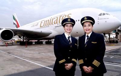 المرأة في قطاع الطيران …مستقبل واعد