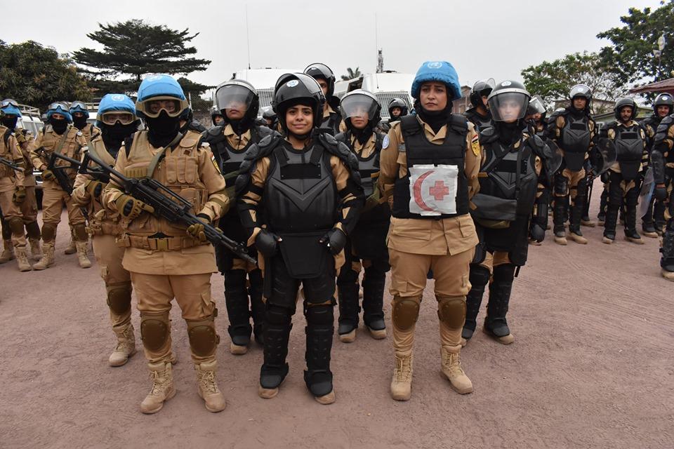 شرطيات مصريات لأوّل مرة في قوات حفظ السلام