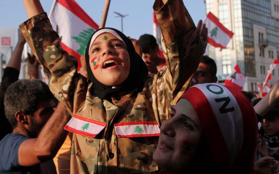 إحذروا غضب النساء في ساحات التظاهر في لبنان