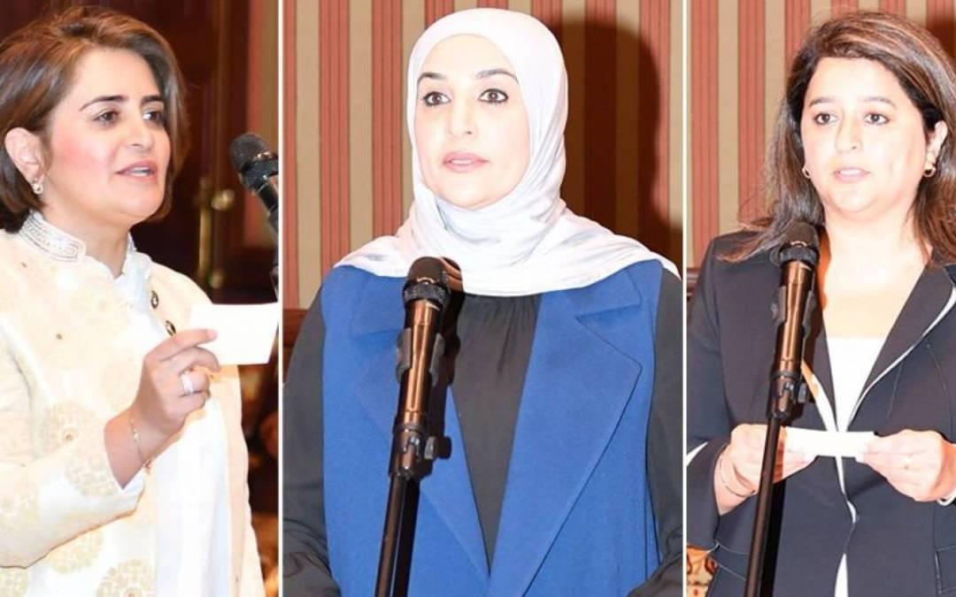 ثلاث وزيرات في الحكومة الكويتية الجديدة في سابقة هي الأولى من نوعها