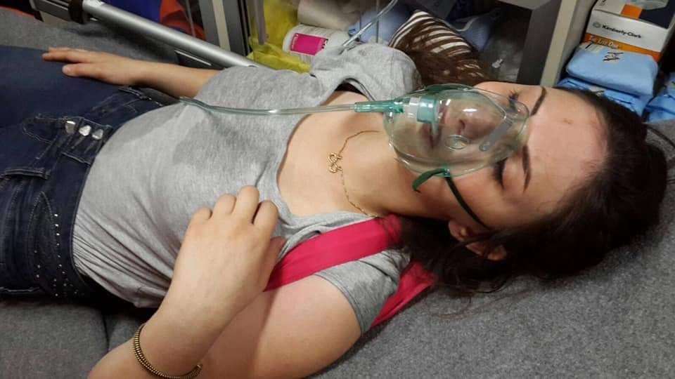 عنف مفرط  ضد المتظاهرين/ات في ثكنة الحلو وتسجيل إصابة 4 ناشطات بعد اعتداء عناصر مكافحة الشغب عليهنّ