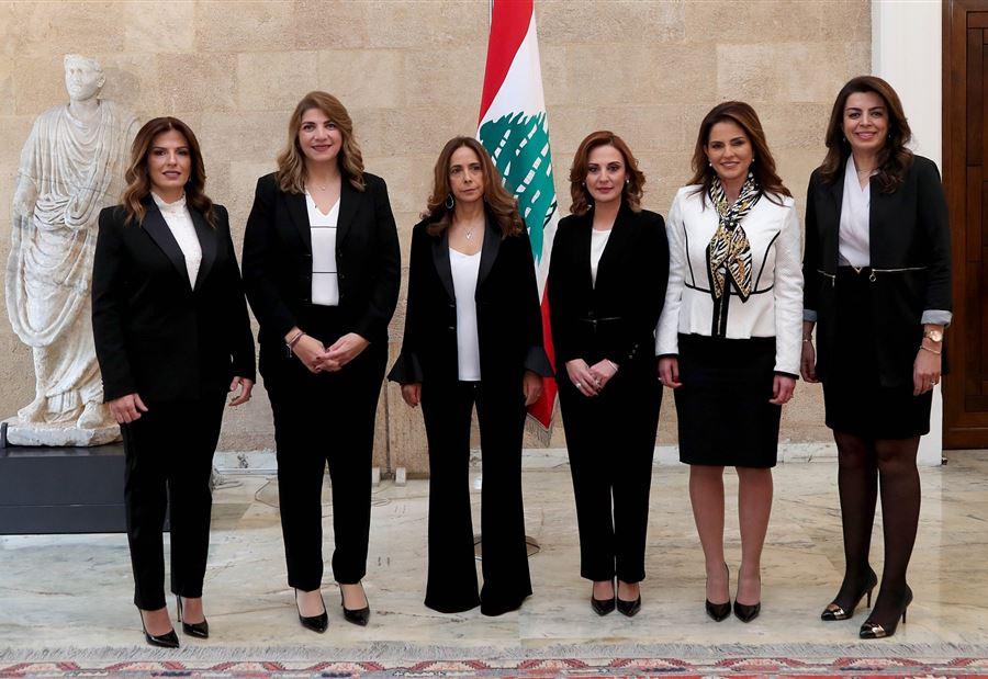 6 وزيرات في الحكومة اللبنانية الجديدة الفاقدة لثقة الشارع