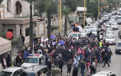غضب الأمهات في مواجهة المجلس الإسلامي الشيعي الأعلى في بيروت