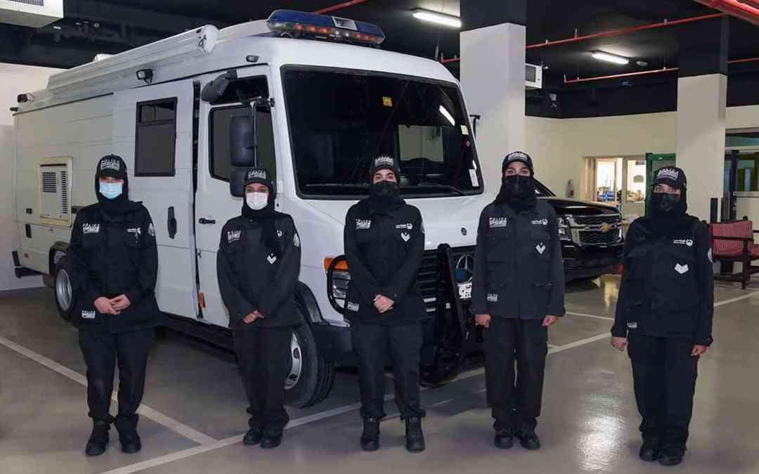 أوّل فريق مكوّن من النساء في مجال إبطال المتفجرات في شرطة دبي