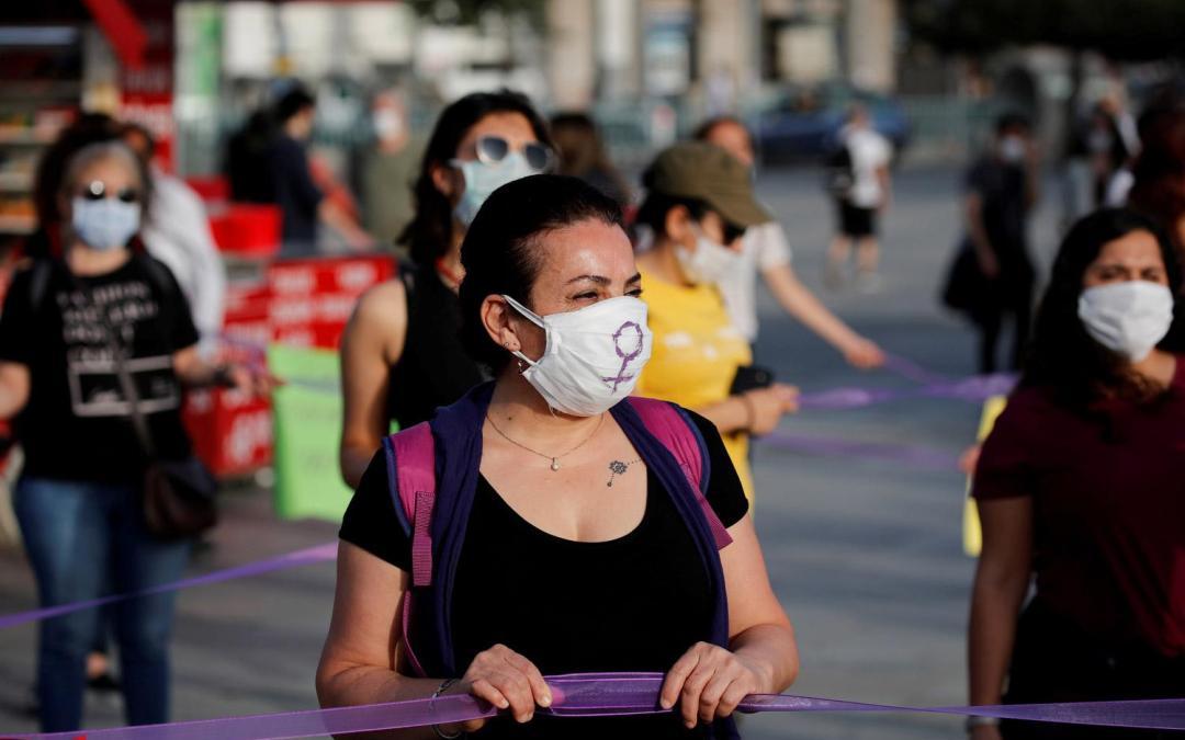 """استمرار الاحتجاجات رفضاً لانسحاب تركيا من """"اتفاقية اسطنبول"""""""