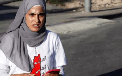 بعد إطلاق سراحها… منى الكرد تستأنف نضالها في مواجهة الاحتلال الاسرائيلي
