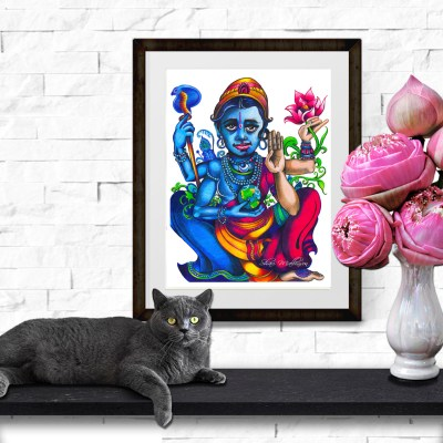 Vishnu's Lotus, Print