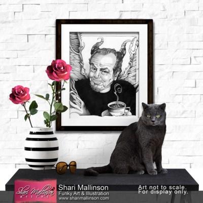 L'il Coffee Devil, Jack Nicholson