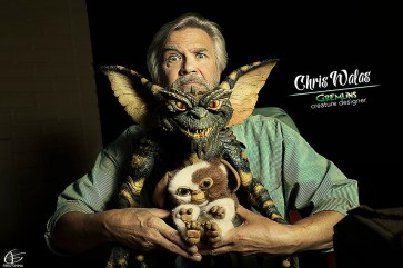 Chris Walas, Stripe & Gizmo, by Fred China