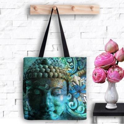 Buddha's Mystery, Tote Bag