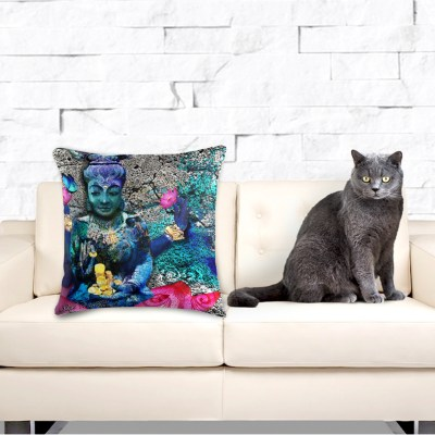 Water Lakshmi, Throw Pillow.