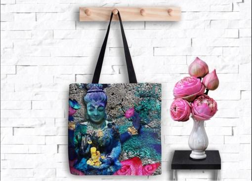 Water Lakshmi, Tote Bag