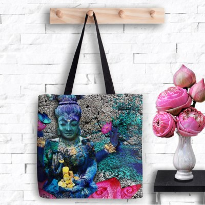 Water Lakshmi, Tote Bag