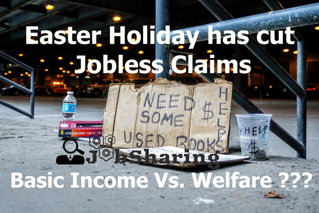 Easter Holiday has cut Jobless Claims – Is Universal Basic Income of €198 Per Month Needed?