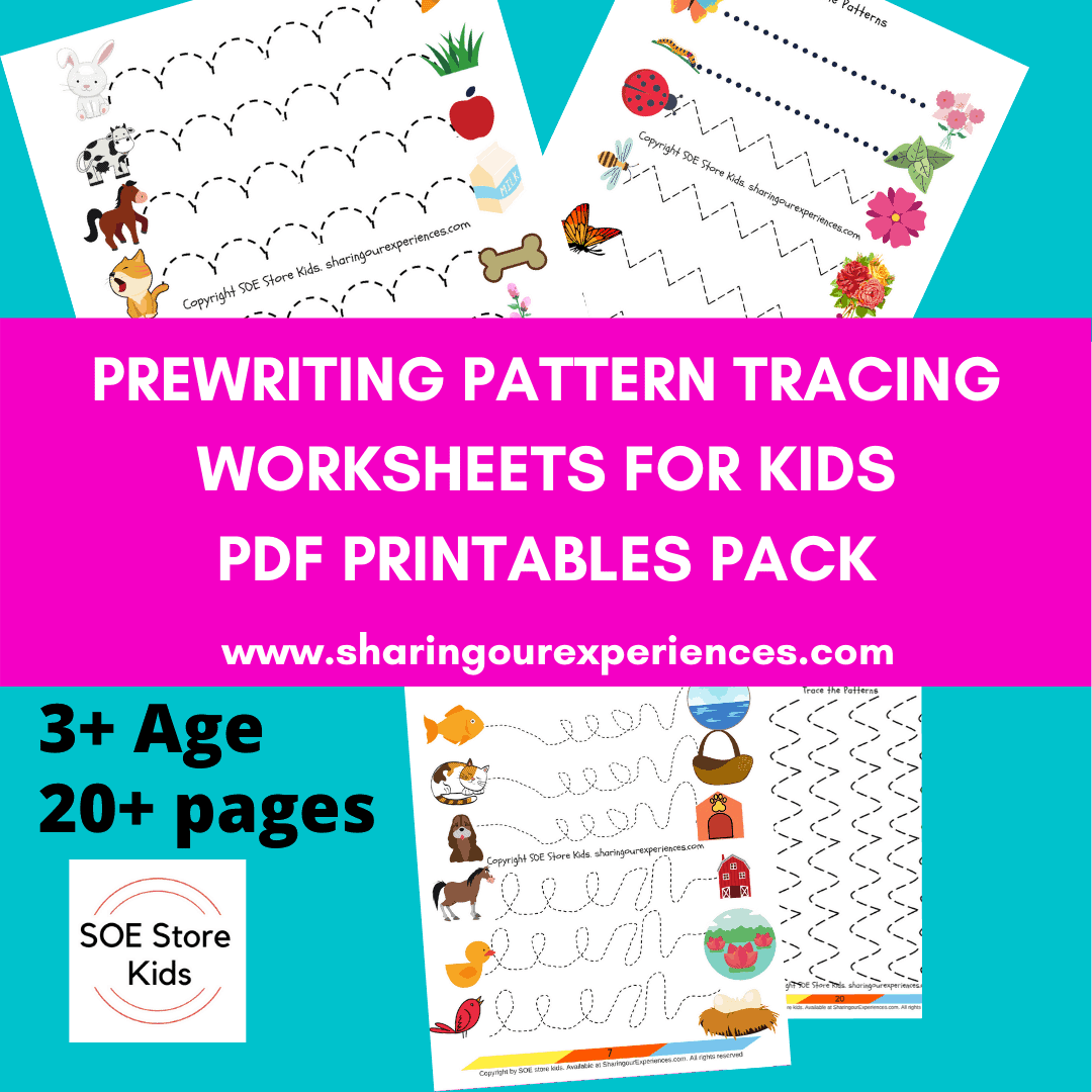 Pre Writing Worksheets Preschoolers 3 Year Olds