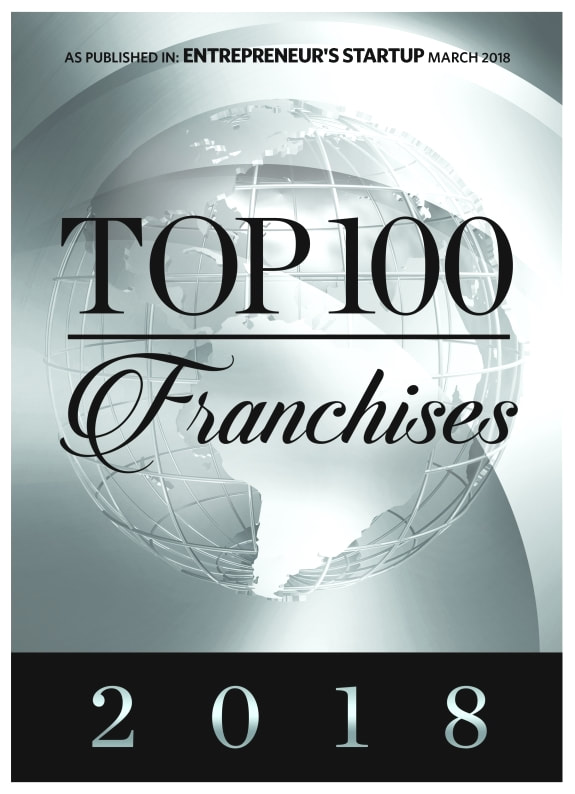 top 100 franchises in 2018