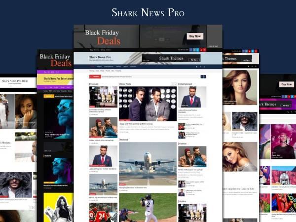 Shark News Pro – News and Magazine Theme