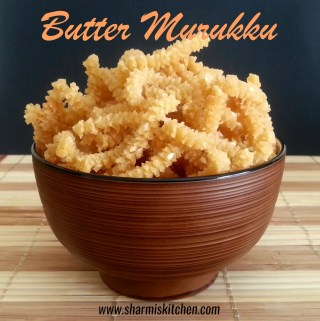 Butter Murukku | Easy Butter Murukku Recipe – Diwali Snack