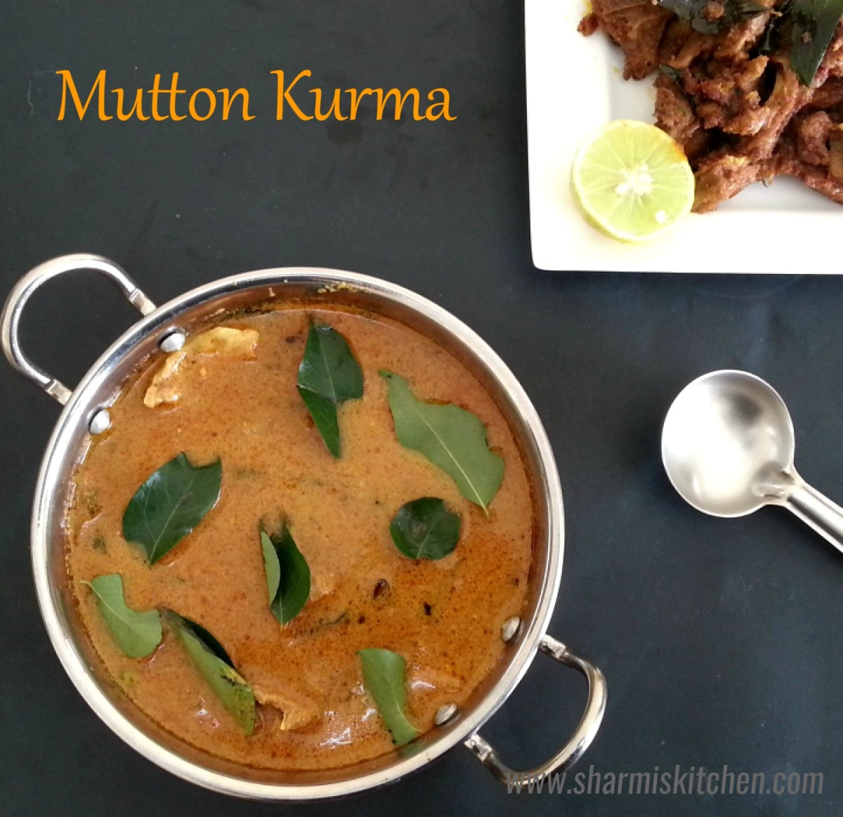Mutton Kurma | Salem Style Mutton Korma Recipe