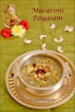 Macaroni Payasam