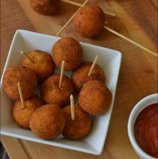 Cheesy Potato Lollipop Recipe | Kids Snack