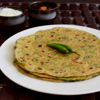 Methi Paratha Recipe | Methi Roti | Methi Thepla