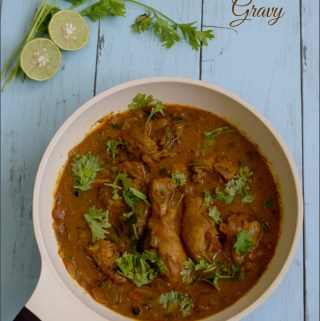 Chicken Gravy without Coconut
