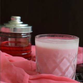 Rose Milk Recipe – with Homemade Rose Syrup