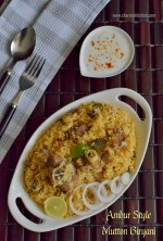 Ambur Style Mutton Biryani