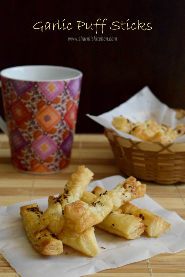 Garlic Puff Sticks