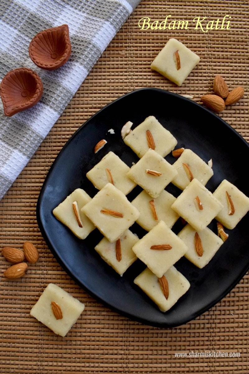 Badam Katli Recipe | Almond Burfi