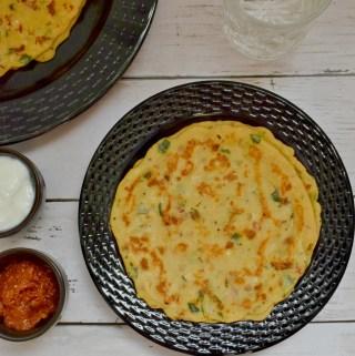 Godhuma Adai Recipe | Wheat Flour Adai