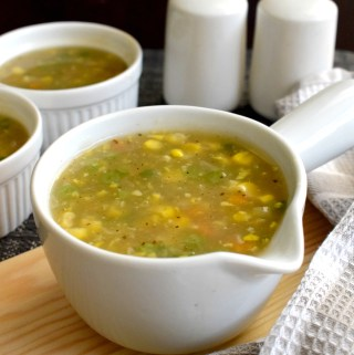 Sweet Corn Veg Soup Recipe – Restaurant Style