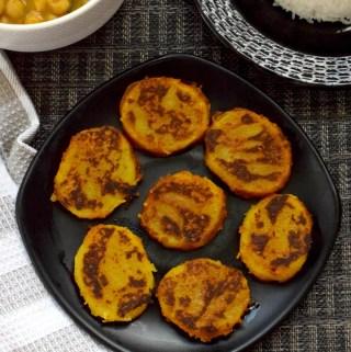 Potato Tawa Fry Recipe | Aloo Tawa Fry