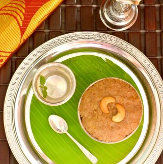 Broken Wheat Sweet Pongal