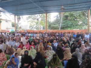 Participants at International Human Rights Day, Karachi Press Club. Photo courtesy of Kiyya Baloch.