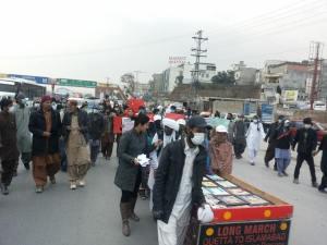baloch-marchers-protest