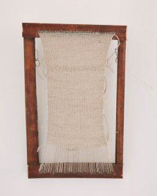 Sharon Adams Linen weaving 2018