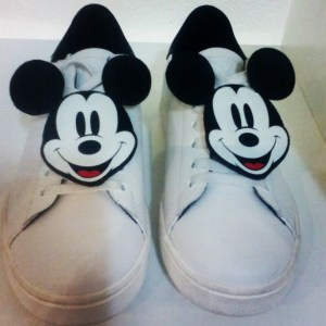 Mickey Mouse trainers, MOA moaconcept.com