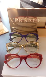 Versace glitter glasses SS16