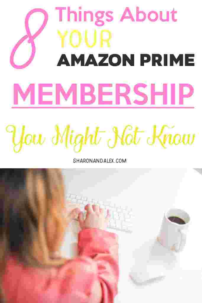 Are you only using your Amazon Prime Membership for the free 2-day shipping? You might be missing out on perks you didn't even realize you got! Here are 8 benefits that you get with an Amazon Prime membership you probably didn't know about. #amazonprime #primemembership #amazonprimebenefits #amazonprimeperks