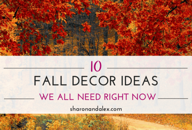 Fall Decor that we need in our lives right now!