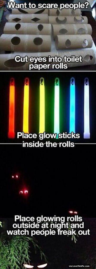 DIY Glowing Eyes