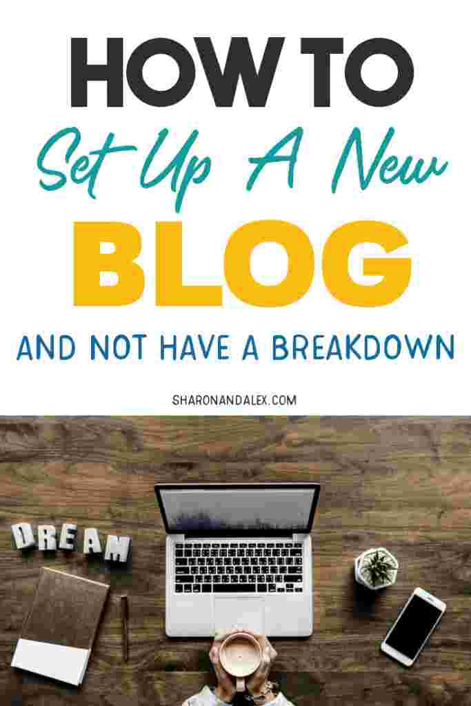 If you're new to blogging, setting up your new blog can seem overwhelming. Check out this step-by-step guide on setting up a new blog and avoid the breakdown!